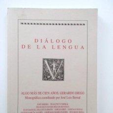 Libros de segunda mano: GERARDO DIEGO, ALGO MÁS DE CIEN AÑOS. JOSÉ HIERRO, FRANCISCO UMBRAL, GONZALO ROJAS, LEOPOLDO PANERO. Lote 116979151