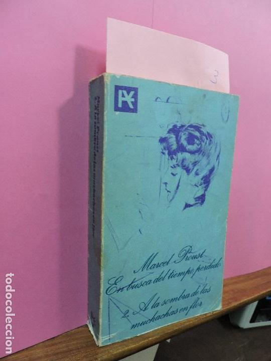 EN BUSCA DEL TIEMPO PERDIDO 2. A LA SOMBRA DE LAS MUCHACHAS EN FLOR. PROUST, MARCEL. ED. ALIANZA. (Libros de Segunda Mano (posteriores a 1936) - Literatura - Narrativa - Otros)