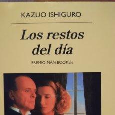 Libros de segunda mano: LOS RESTOS DEL DÍA PREMIO MAN BOOKER. KAZUO ISHIGURO. Lote 117186158