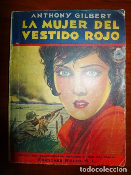 La mujer del vestido rojo libro