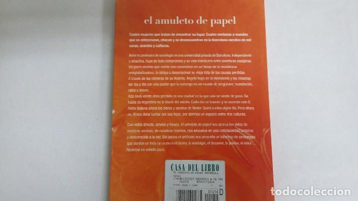 Libros de segunda mano: EL AMULETO DE PAPEL. EMMA RIVEROLA. - Foto 2 - 117406583