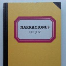 Livres d'occasion: NARRACIONES - CHEJOV - BIBLIOTECA BASICA SALVAT. Lote 117459707
