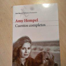 Libros de segunda mano: CUENTOS COMPLETOS - AMY HEMPEL. Lote 117651299