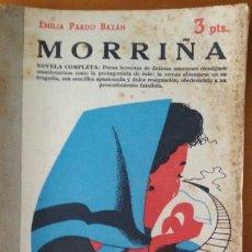 Libros de segunda mano: MORRIÑA,EMILIA PARDO BAZÁN.1951. Lote 117707383