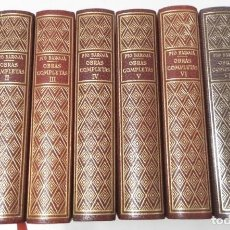 Libros de segunda mano: OBRAS COMPLETAS (8 TOMOS) - PÍO BAROJA. Lote 118241099