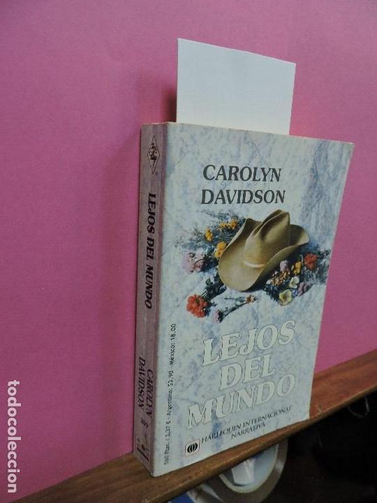 LEJOS DEL MUNDO. DAVIDSON, CAROLYN. ED. HARLEQUIN. BARCELONA 1999 (Libros de Segunda Mano (posteriores a 1936) - Literatura - Narrativa - Otros)