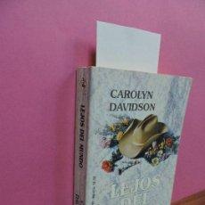 Libros de segunda mano: LEJOS DEL MUNDO. DAVIDSON, CAROLYN. ED. HARLEQUIN. BARCELONA 1999. Lote 118425635