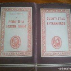 Libros de segunda mano: 2 LIBROS COLECCIÓN CISNEROS AÑO 1.944. Lote 118435871