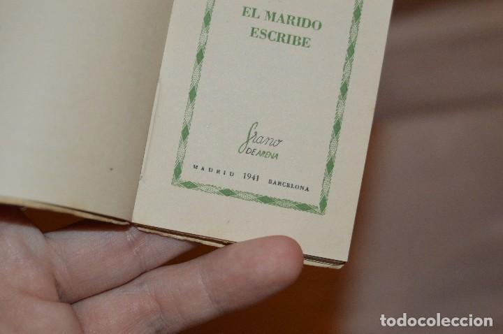 Libros de segunda mano: ANTIGUO - 1ª EDICIÓN 1941 - MINIATURA COLECCIÓN GRANO DE ARENA - EL MARIDO ESCRIBE - F. KARINTHY - Foto 6 - 118445743