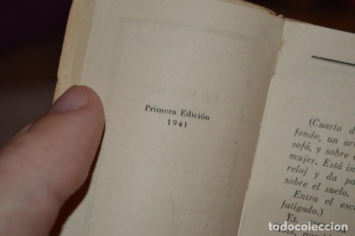 Libros de segunda mano: ANTIGUO - 1ª EDICIÓN 1941 - MINIATURA COLECCIÓN GRANO DE ARENA - EL MARIDO ESCRIBE - F. KARINTHY - Foto 7 - 118445743