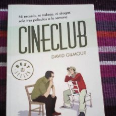 Libros de segunda mano: CINECLUB, DAVID GILMOUR ED DEBOLSILLO. Lote 118691103
