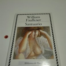 Libros de segunda mano: SANTUARIO. WILLIAM FAULKNER.. Lote 118709442