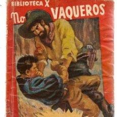 Libros de segunda mano: BIBLIOTECA X. Nº 15. NOVELAS DE VAQUEROS. ODIO EN EL OESTE. ARIZONA. EDIT. CIES. (V1/C1). Lote 118718075