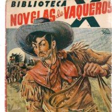 Libros de segunda mano: BIBLIOTECA X. Nº 37. NOVELAS DE VAQUEROS. TIERRA DE PISTOLEROS. F, MEDIANTE. EDIT. CIES. (V1/C1). Lote 118718299
