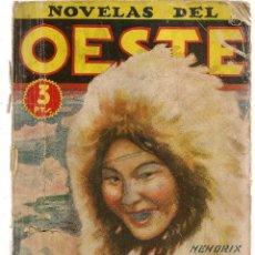 Libros de segunda mano: NOVELAS DEL OESTE. Nº 16. EL PIRATA DE ALASKA. HENDRIX KEYNE. EDIC. CLIPER. (V1/C1). Lote 118718507