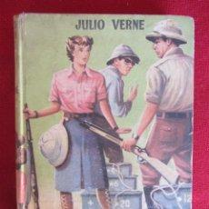 Libros de segunda mano: AVENTURAS DE LA MISIÓN BARSAC. JULIO VERNE. ED. MATEU, COL. JUVENIL CADETES. Lote 118718759