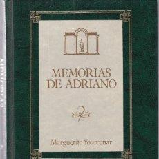 Libros de segunda mano: MARGUERITE YOURCENAR - MEMORIAS DE ADRIANO - EDICIONES ORBIS 1988. Lote 118876691