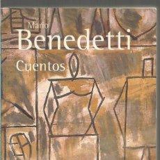 Libros de segunda mano: MARIO BENEDETTI. CUENTOS. ALIANZA. Lote 120003715