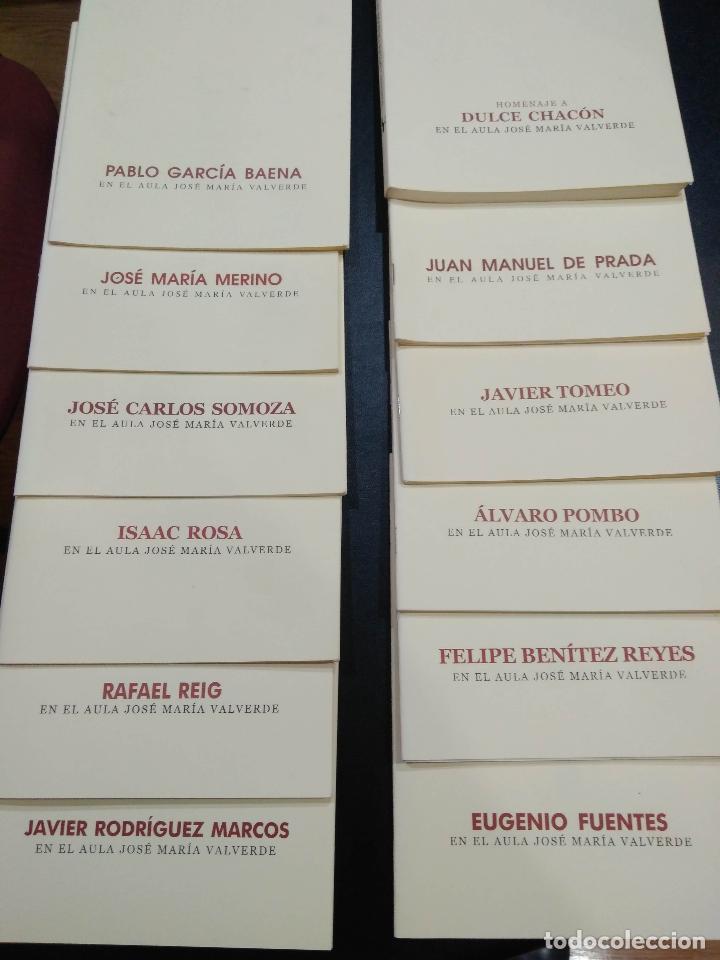 EN EL AULA JOSE MARIA VALVERDE. 23 LIBROS. (Libros de Segunda Mano (posteriores a 1936) - Literatura - Narrativa - Otros)
