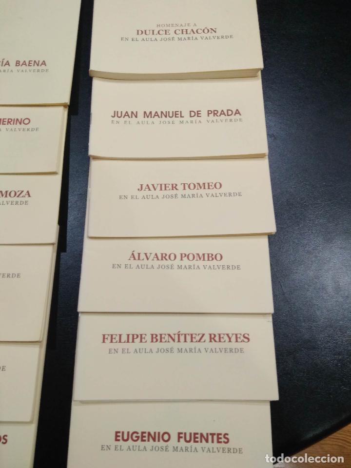 Libros de segunda mano: En el aula jose maria valverde. 23 libros. - Foto 2 - 120028707