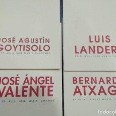 Libros de segunda mano: EN EL AULA JOSE MARIA VALVERDE. 7 LIBROS. Lote 120028963