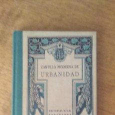 Libros de segunda mano: CARTILLA MODERNA DE URBANIDAD 1998 EDAF. Lote 120036719