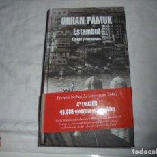 Libros de segunda mano: ESTAMBUL CIUDAD Y RECUERDOS.ORHAN PAMUK.EDITORIAL MONDADORI.BARCELONA 2006.-4ª EDICION. Lote 120068803