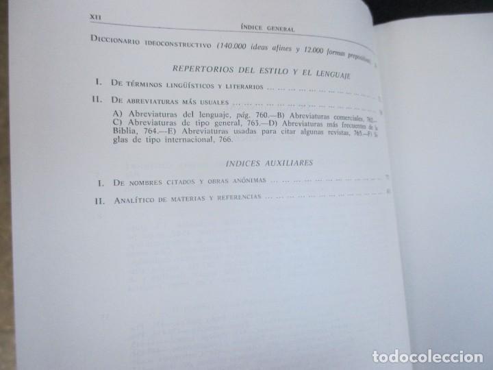 Libros de segunda mano: CIENCIA DEL LENGUAGE Y ARTE DEL ESTILO TEORIA Y SINOPSIS - MARTIN ALONSO - AGUILAR 1975 2 TOMOS + IN - Foto 3 - 121174755