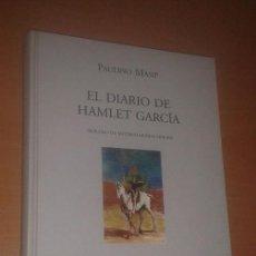 Libros de segunda mano: PAULINO MASIP - EL DIARIO DE HAMLET GARCÍA - COMUNIDAD DE MADRID / VISOR LIBROS, 2000. Lote 121437235