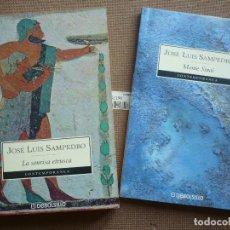 Libros de segunda mano: LA SONRISA ETRUSCA + MONTE SINAI ( JOSE LUIS SAMPEDRO ) DEBOLSILLO. Lote 121624195