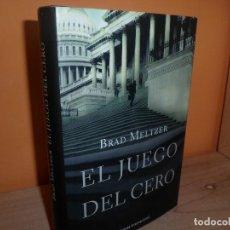 Libros de segunda mano: EL JUEGO DEL CERO / BRAD MELTZER. Lote 121652923