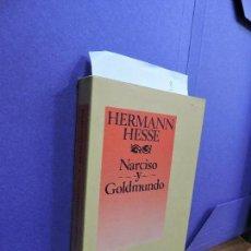 Libros de segunda mano: NARCISO Y GOLDMUNDO. HESSE, HERMANN. ED. EDHASA. BARCELONA 1988. 2ª REIMPRESIÓN. Lote 121681351