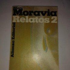 Libros de segunda mano: RELATOS 2 . ALBERTO MORAVIA ( ALIANZA EDITORIAL ). Lote 121797259