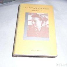 Libros de segunda mano: SIMONE DE BEAUVOIR, LA PLENITUD DE LA VIDA, EDHASA. Lote 121958075