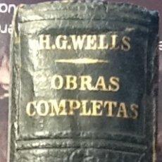Libros de segunda mano: OBRAS COMPLETAS - H.G.WELLS. Lote 121969907