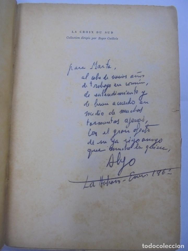 Libros de segunda mano: LE SIÈCLE DES LUMIÈRES. ALEJO CARPENTIER. EDICION GALLIMARD. 1º EDICION. DEDICATORIA DEL AUTOR. 1962 - Foto 2 - 122060931