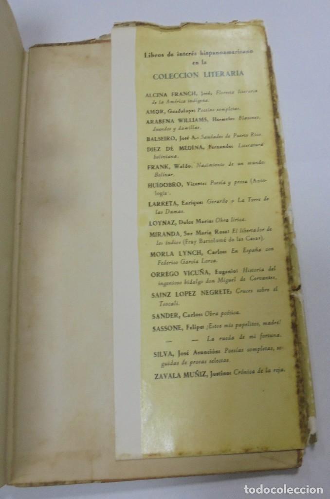 Libros de segunda mano: UN VERANO EN TENERIFE. DULCE MARIA LOYNAZ. 1958. AGUILAR. 1º EDICION. DEDICATORIA. VER - Foto 10 - 122062335