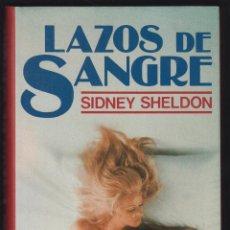Libros de segunda mano: LAZOS DE SANGRE SIDNEY SHELDON EDIT CIRCULO DE LECTORES 331 PAGINAS AÑO 1979 LL2252. Lote 122081779
