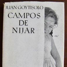 Libros de segunda mano: JUAN DE GOYTISOLO. CAMPOS DE NÍJAR -RELATOS-. FOTOGRAFÍAS VICENTE ARANDA. SEIX BARRAL.BARCELONA.1970. Lote 122141023