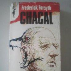 Libros de segunda mano: CHACAL - FREDERICK FORSYTH - COLECCIÓN RENO, Nº 450 - PLAZA & JANÉS, 1973. Lote 122276291