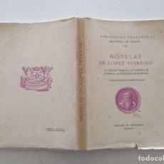 """Libros de segunda mano: NOVELAS : """"O NIÑO DE POMBAS"""". """"O CASTELO DE PAMBRE"""". """"A TECEDEIRA DE BONAVAL"""". RM86495. Lote 122575147"""