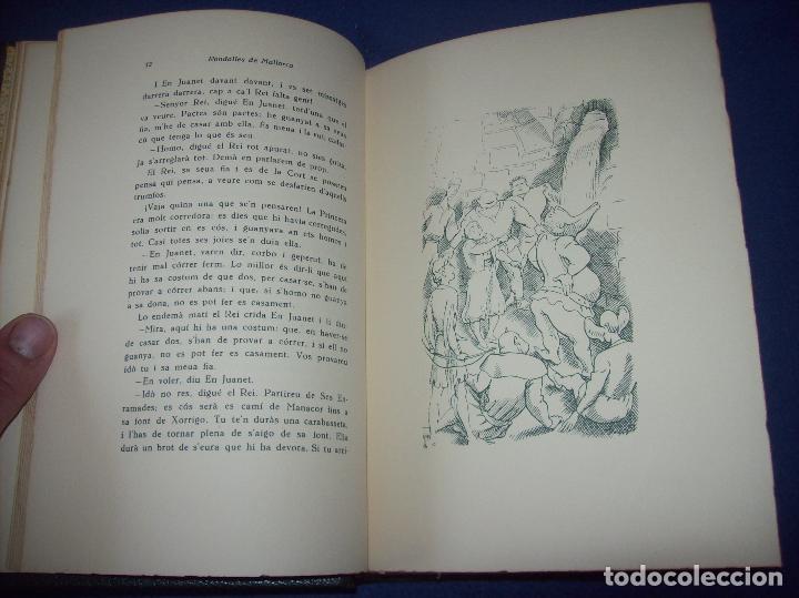 Libros de segunda mano: LES MILLORS RONDALLES DE MALLORCA. ED. MOLL. 1985. IL·LUSTRACIONS DE PRAT. EXEMPLAR NUMERAT - Foto 5 - 122628835