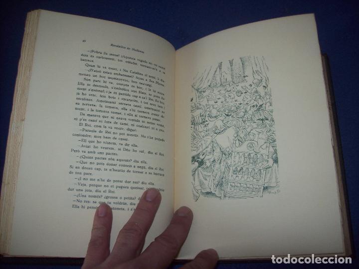 Libros de segunda mano: LES MILLORS RONDALLES DE MALLORCA. ED. MOLL. 1985. IL·LUSTRACIONS DE PRAT. EXEMPLAR NUMERAT - Foto 6 - 122628835