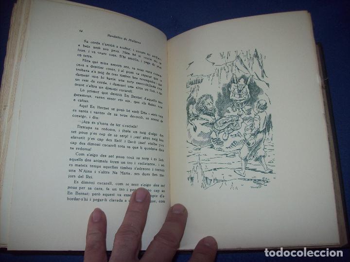 Libros de segunda mano: LES MILLORS RONDALLES DE MALLORCA. ED. MOLL. 1985. IL·LUSTRACIONS DE PRAT. EXEMPLAR NUMERAT - Foto 7 - 122628835