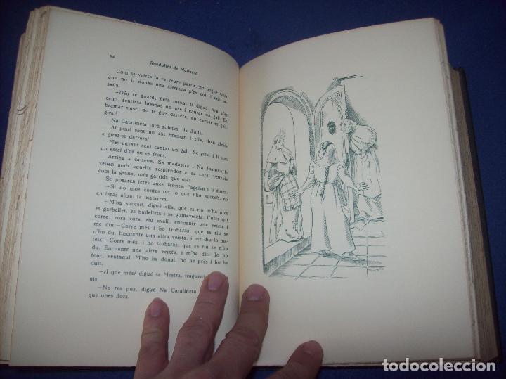 Libros de segunda mano: LES MILLORS RONDALLES DE MALLORCA. ED. MOLL. 1985. IL·LUSTRACIONS DE PRAT. EXEMPLAR NUMERAT - Foto 8 - 122628835