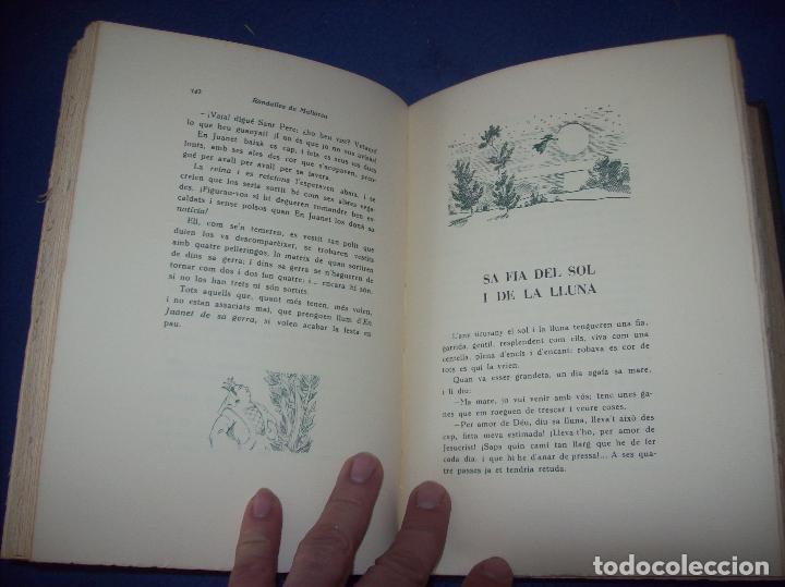 Libros de segunda mano: LES MILLORS RONDALLES DE MALLORCA. ED. MOLL. 1985. IL·LUSTRACIONS DE PRAT. EXEMPLAR NUMERAT - Foto 9 - 122628835