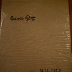 Libros de segunda mano: BIBLIOFILIA. GREGORIO PRIETO. MILTON. EL PARAISO PERDIDO. PRÓLOGO VICENTE ALEIXANDRE. 1971. Lote 122979323