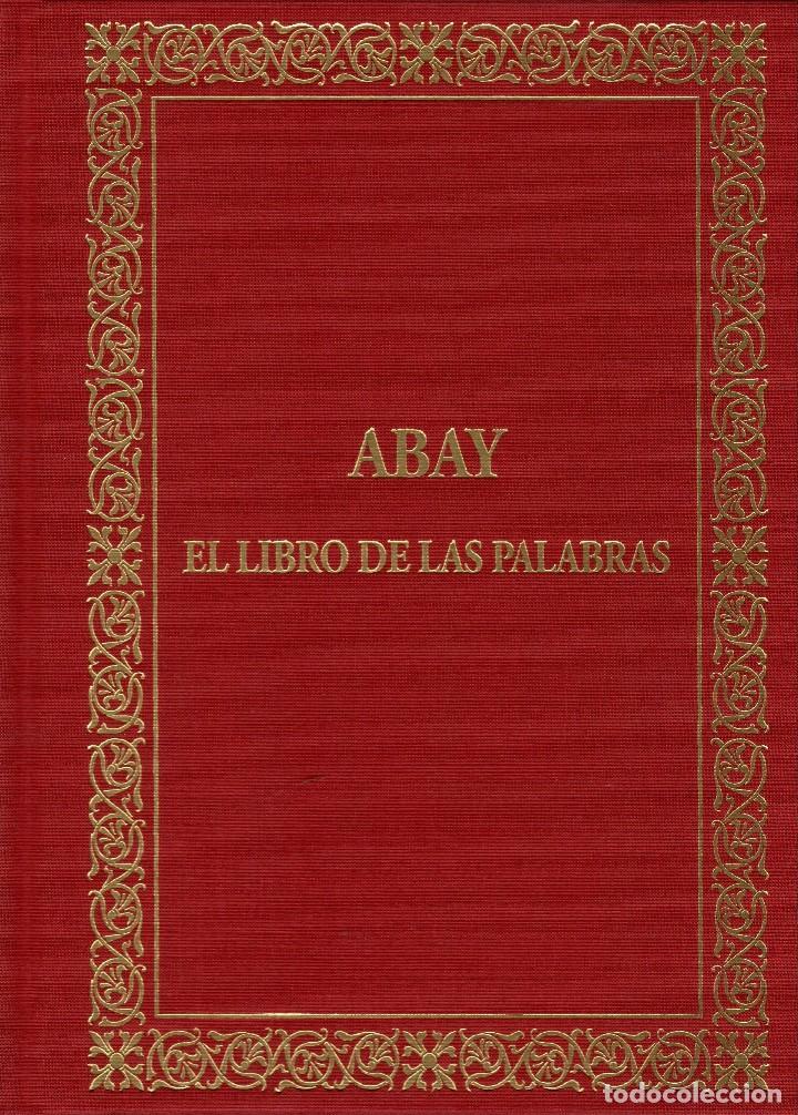 DOS LIBROS DE LITERATURA KAZAJA - ABAY (EL LIBRO DE LAS PALABRAS) + ANTOLOGÍA DE POESÍA KAZAJA segunda mano