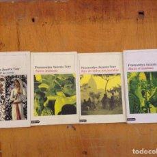 Libros de segunda mano: EL CUARTETO DE BURÚ. ANANTA TOER PRAMOEDYA. DESTINO (TETRALOGÍA COMPLETA). Lote 124184895