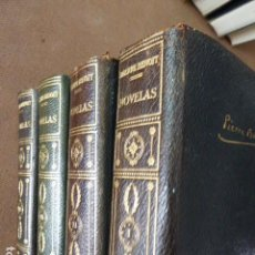 Libros de segunda mano: NOVELAS. PIERRE BENOIT. ED. PLANETA, 1958. 4 TOMOS. . Lote 124260331